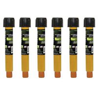 Tracer Products - TP9870P6 EZ-Ject Universal / Ester A/C Dye Injection Cartridges (6-Pack), R-134a / PAG