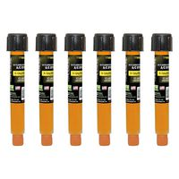 Tracer Products - TP9860P6 EZ-Ject A/C Dye Injection Cartridges (6-Pack), R-134a / PAG