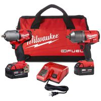 "Milwaukee Tool - 2993-22 M18 Fuel High Torque 1/2"" and 3/8"" Impact Kit"