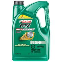 Castrol - 03102 GTX High Mileage Synthetic Blend Motor Oil