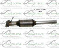 Davico 831-250 Universal catalytic converter