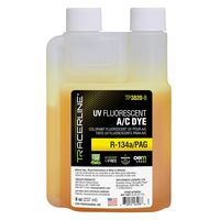 Tracer Products - TP3820-8 Fluoro-Lite 5 UV Fluorescent A/C Leak Detection Dye for R-134a / PAG