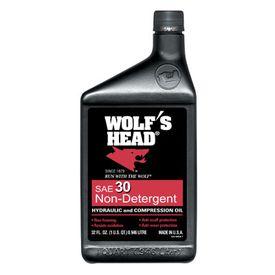 Auto Value Hydraulic And Compressor Oil Non Detergent Wolfs Head Motor Oil Wfo 836 80536 56