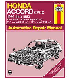 auto value honda accord cvcc repair manual haynes hay 42010 repair rh autoparts2020 com Honda Accord Coupe 2003 Honda Accord