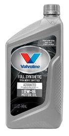 Auto value valvoline advanced 0w16 motor oil valvoline for Advance auto motor oil